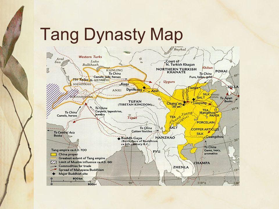 Tang Dynasty Map