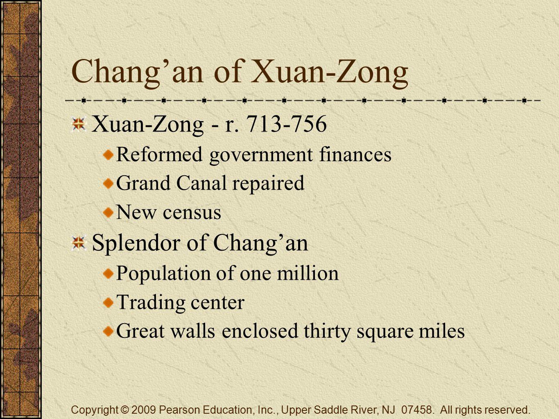 Chang'an of Xuan-Zong Xuan-Zong - r.