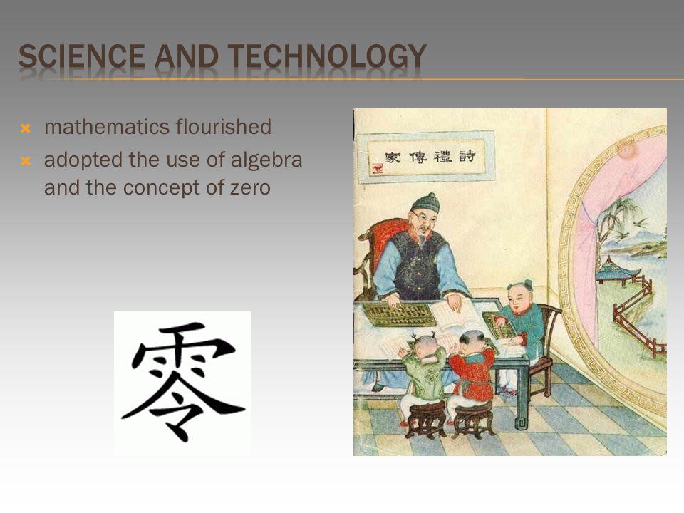  mathematics flourished