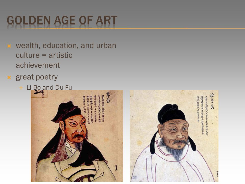  wealth, education, and urban culture = artistic achievement