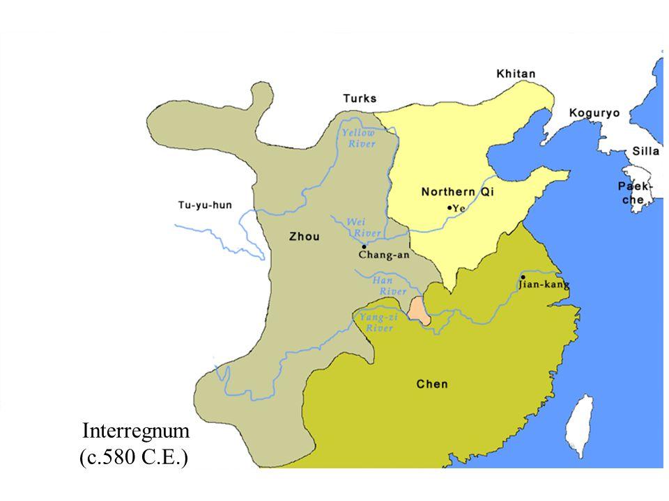 Interregnum (c.580 C.E.)