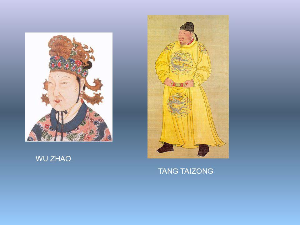 WU ZHAO TANG TAIZONG