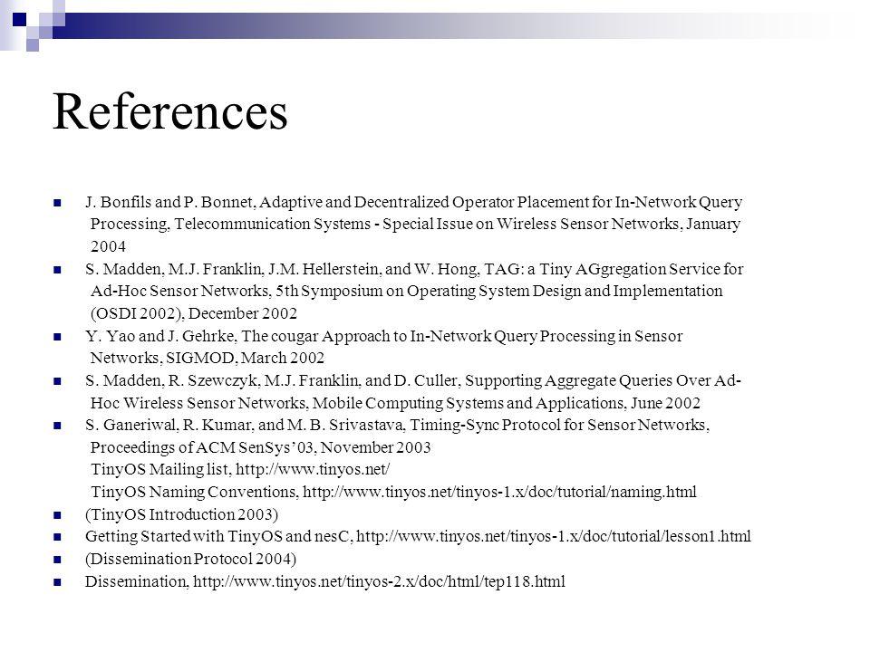 References J. Bonfils and P.