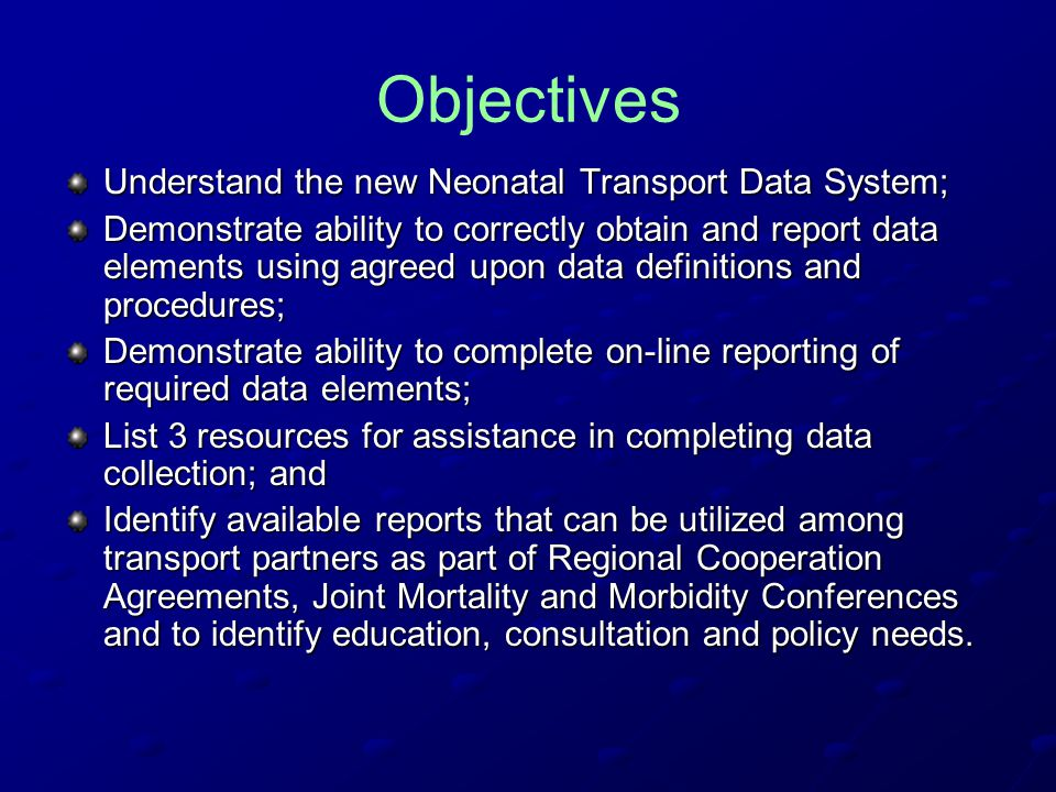 Data Collection Patient condition should be the driving force in timing of transport initiation.