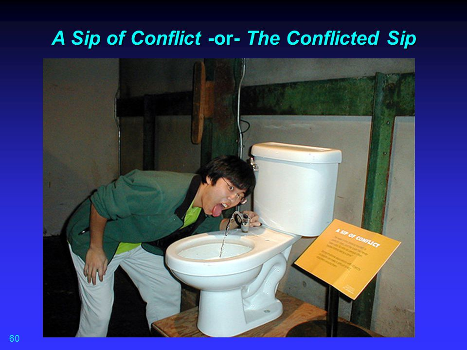 A Sip of Conflict -or- The Conflicted Sip 60