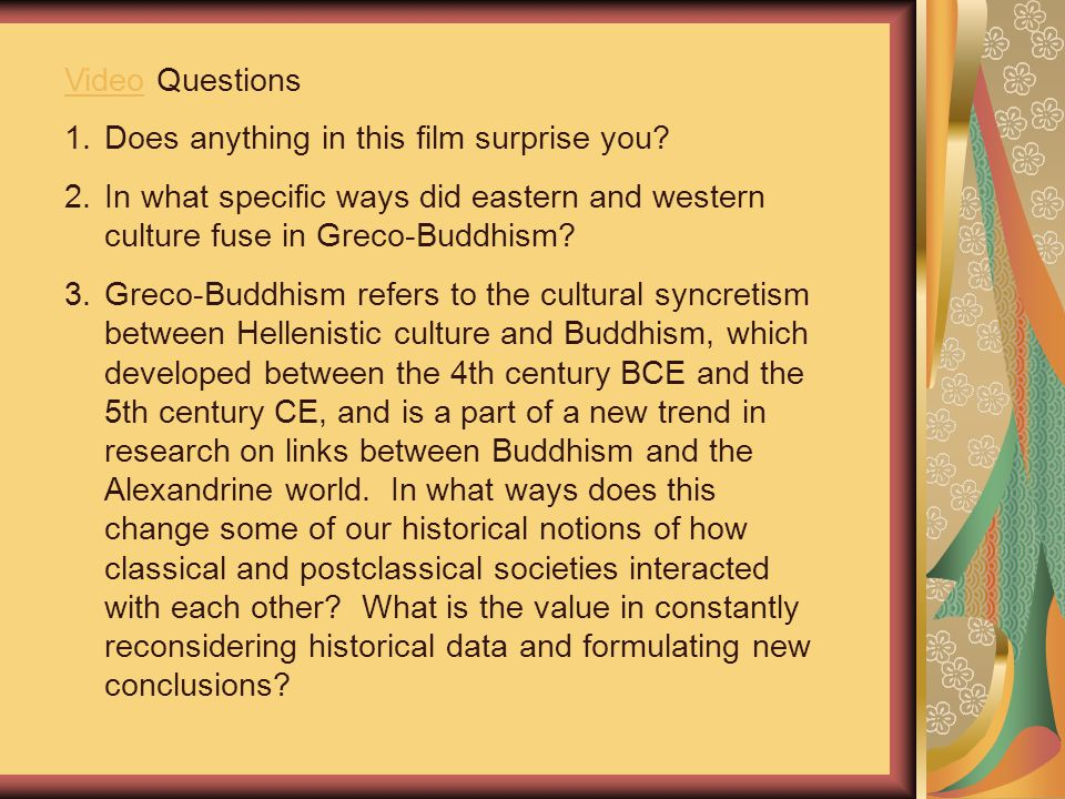 VideoVideo Questions 1.Does anything in this film surprise you.