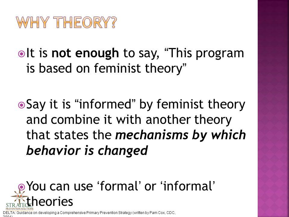 Process theory  Logic model Perry, Brad (2009).
