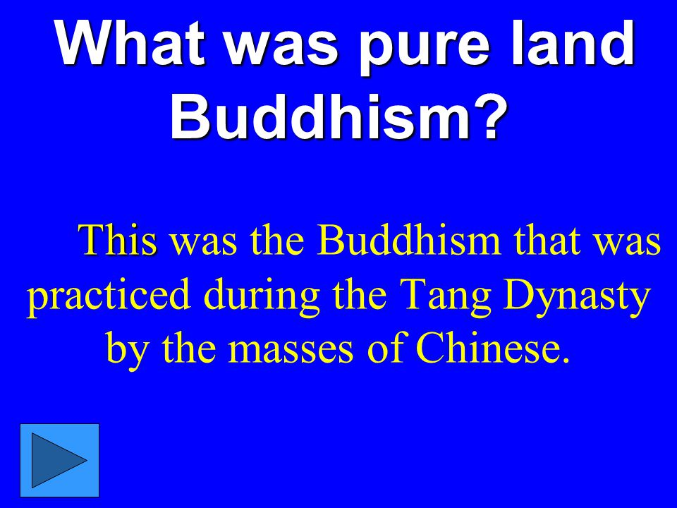 What was pure land Buddhism.