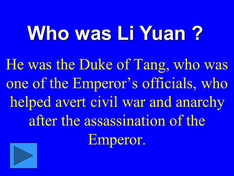 Who was Li Yuan .