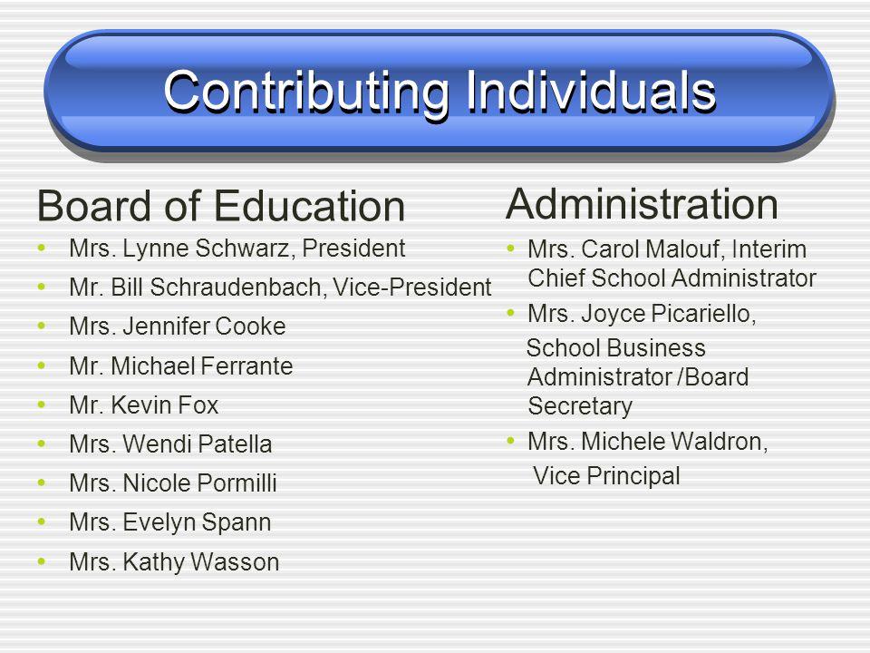 2011 - 2012 Budget Cranbury Township Board of Education