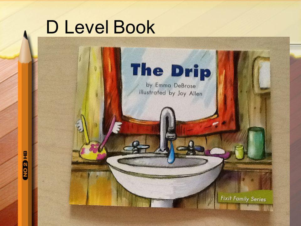D Level Book