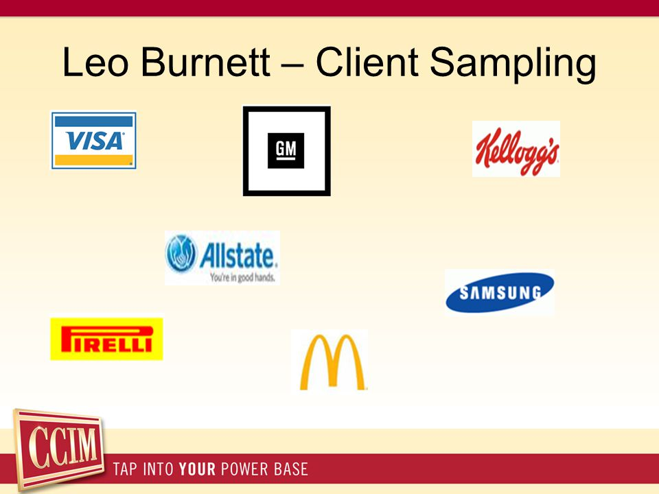 Leo Burnett – Client Sampling