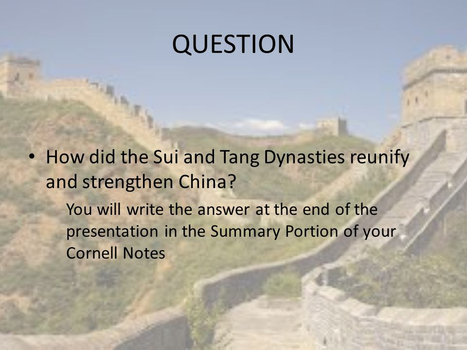 Fall of Han Dynasty As the Han empire fell, Nomads from the north moved in and settled in China Like all empires, conflict and chaos followed after the Han Dynasty fell Floods, Droughts, and Food Shortages also ravaged China for nearly 650 years