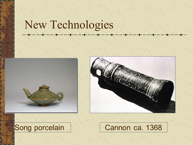 New Technologies Song porcelainCannon ca. 1368