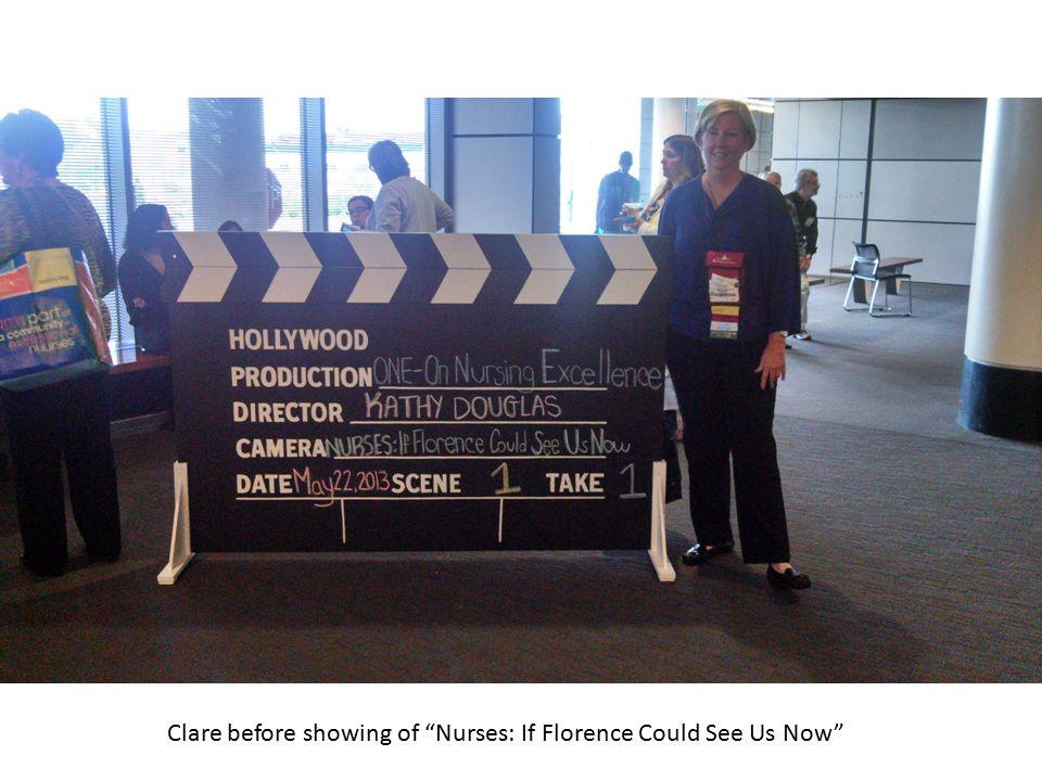 Clare and Miranda at Certification Celebration