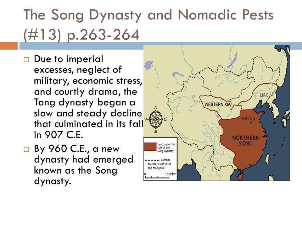 Tang Downfall (#12)  Read p. 264