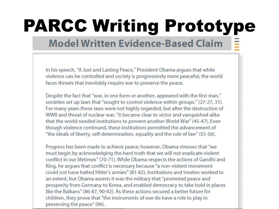 PARCC Writing Prototype