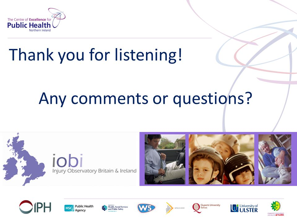 Thank you for listening! Any comments or questions?