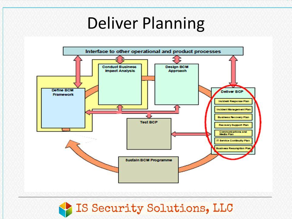 Deliver Planning