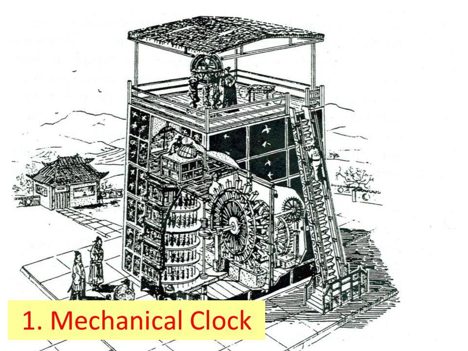 1. Mechanical Clock