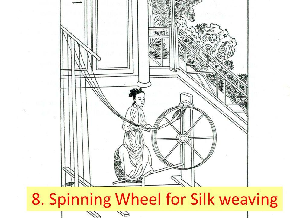 8. Spinning Wheel for Silk weaving