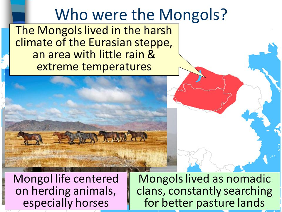 Who were the Mongols.