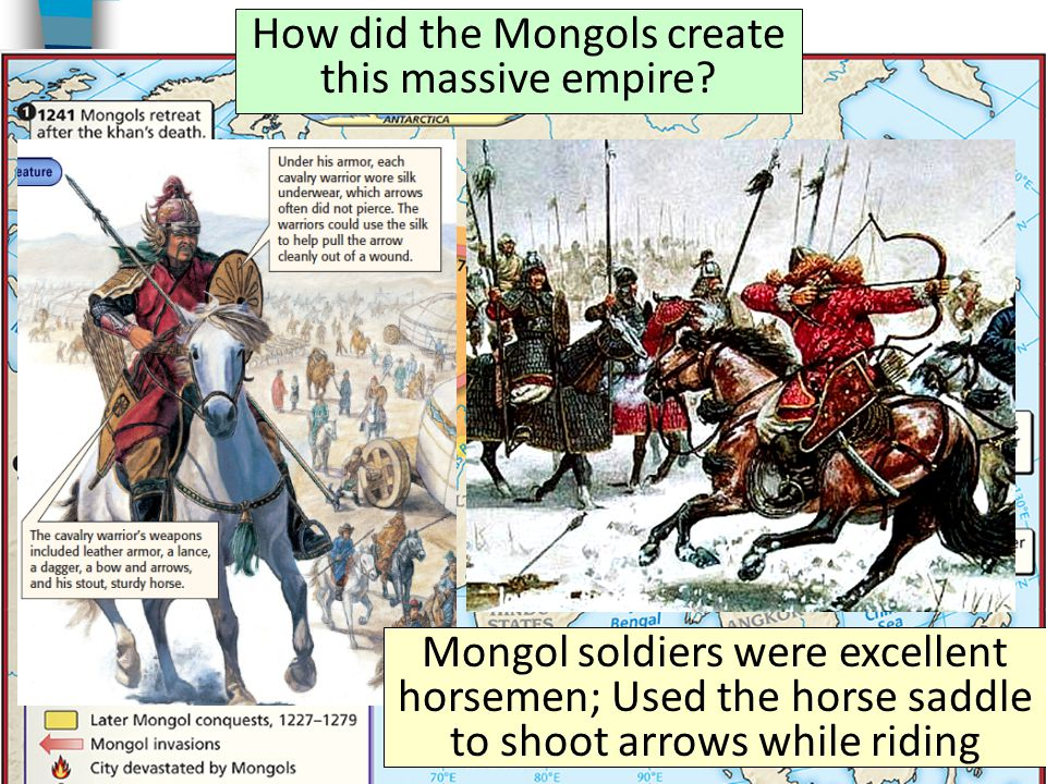 How did the Mongols create this massive empire.
