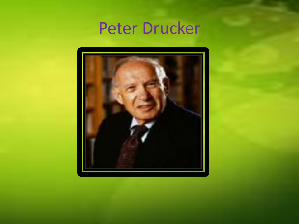 Peter Drucker's profile Peter Ferdinand Drucker was born on 19 November 1909 in Vienna, Australia He was died on 11 November 2005 when his age 96 years old at California USA.