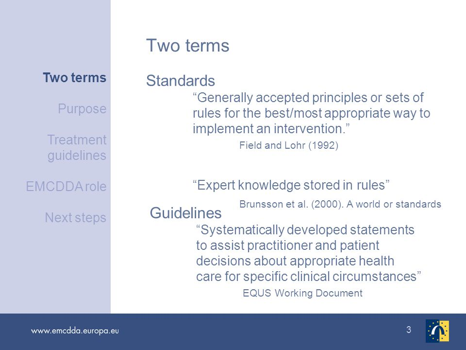 14 The role of the EMCDDA : The Best Practice Portal as clearing house
