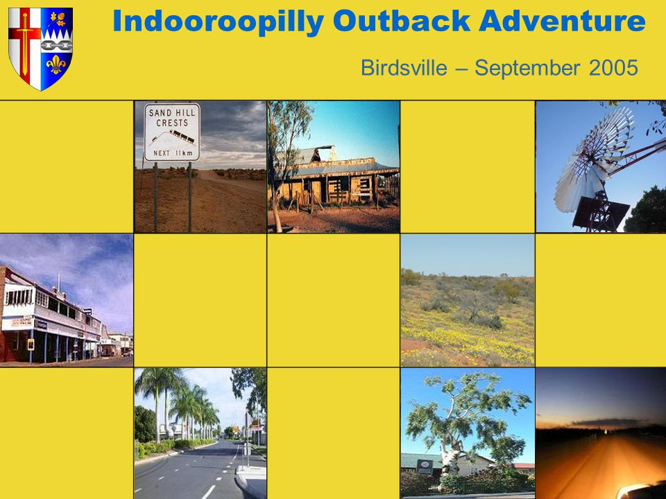 Indooroopilly Rovers Outback Adventure Heading for Betoota - population of 0.
