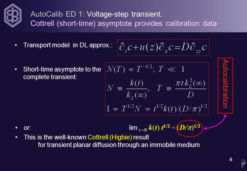 6 AutoCalib ED 1: Voltage-step transient.