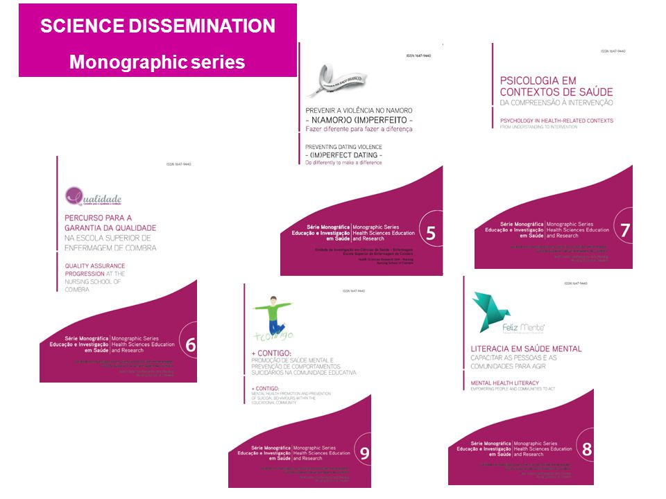 SCIENCE DISSEMINATION Monographic series