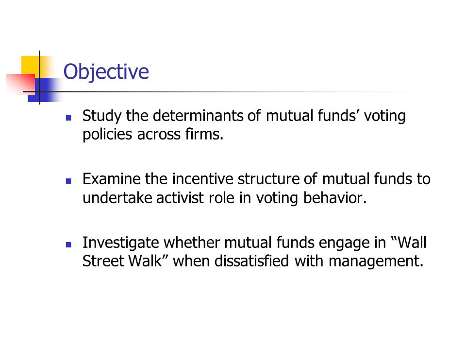 Fund Voting Behavior with Respect to Investment Horizon