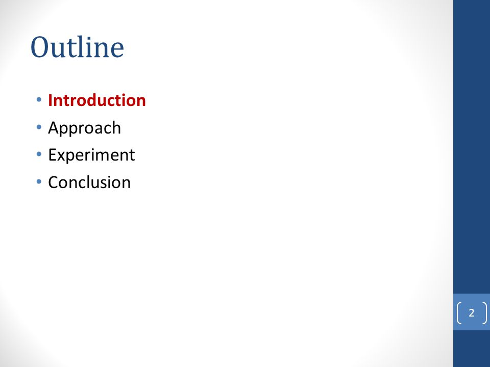 Outline Introduction Approach Framework Topic Term Identification Topic Relation Identification Topic Hierarchy Generation Topic Hierarchy Update Experiment Conclusion 13