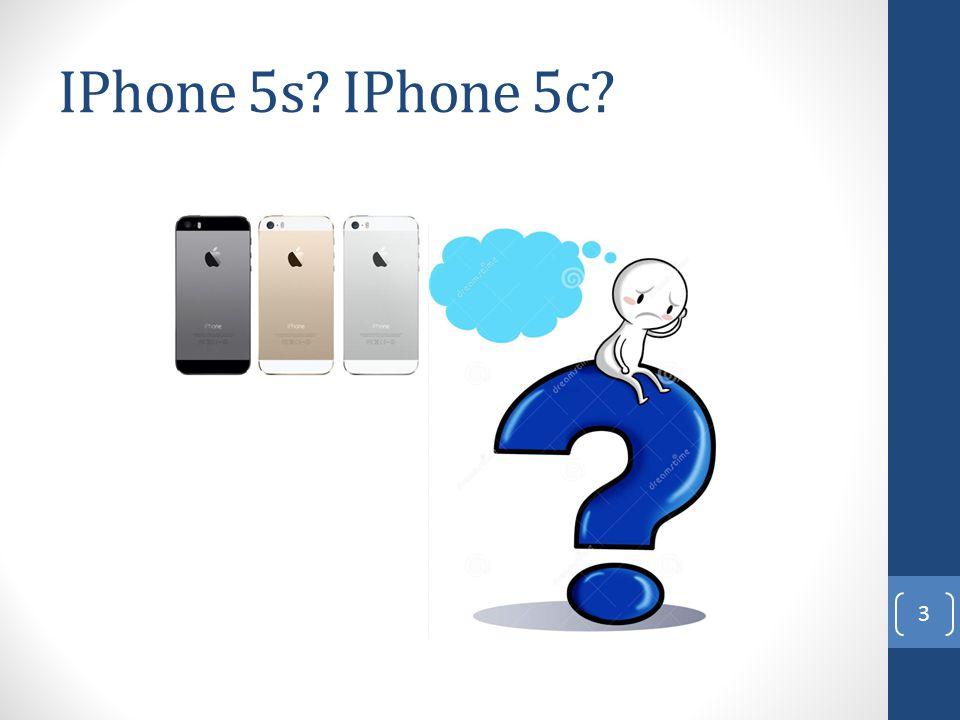 IPhone 5s? IPhone 5c? 3