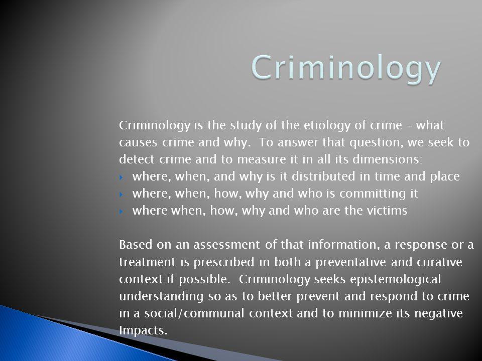  Macro differentiation/inter crime specificity  Micro differentiation/intra crime specificity  Causality vs.