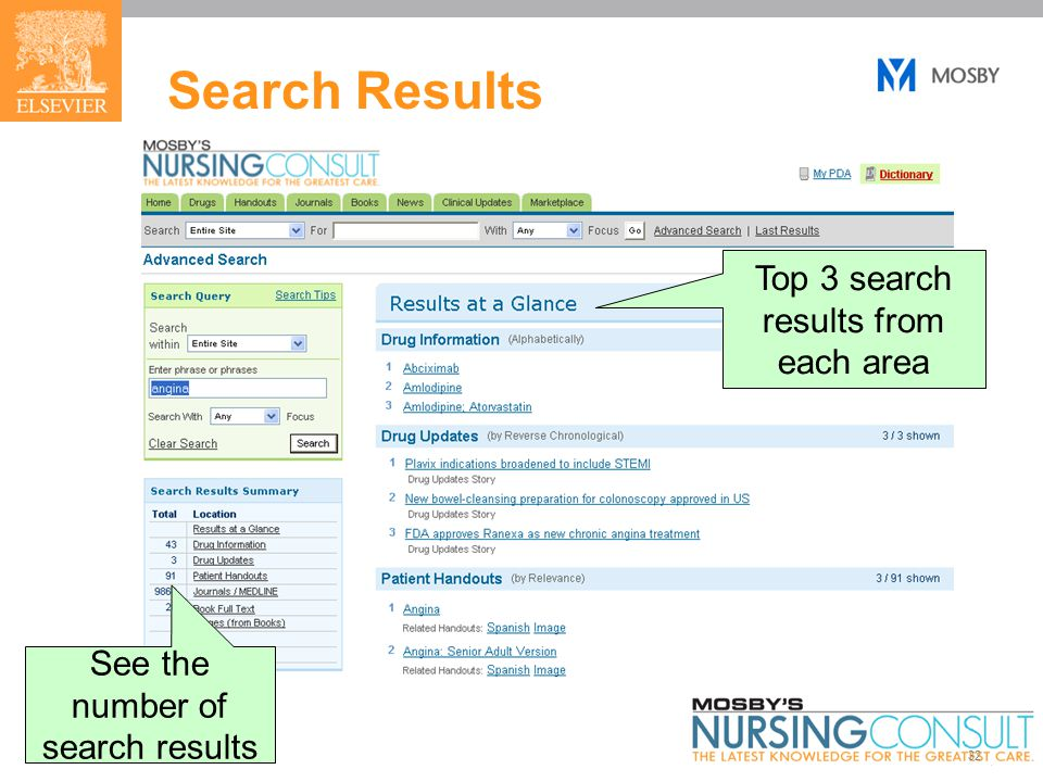 32 Search Results See the number of search results Top 3 search results from each area