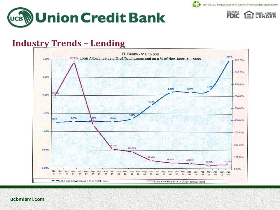 Industry Trends – Net Income 8 ucbmiami.com