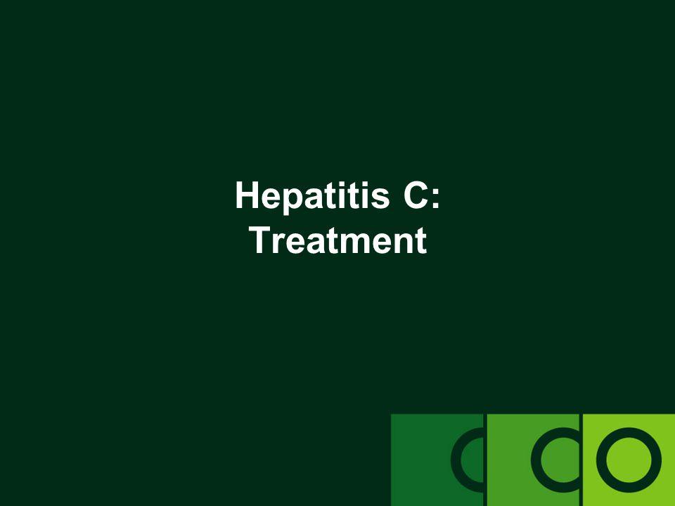 Hepatitis C: Treatment