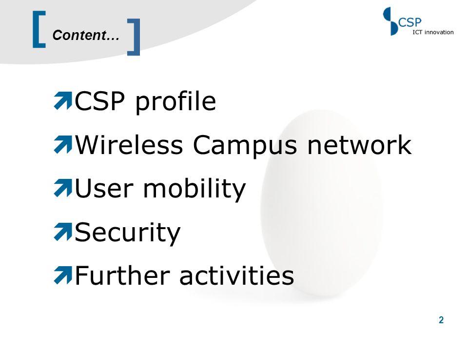 [ 13 Phase 1 – network deployment ] RF coverage RF signal