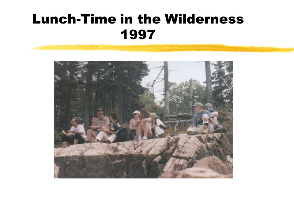 Lunch-Time in the Wilderness 1997