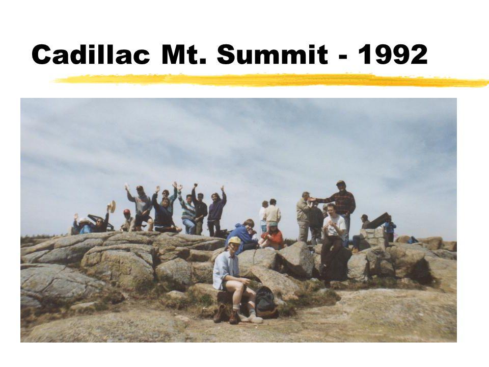 Cadillac Mt. Summit - 1992