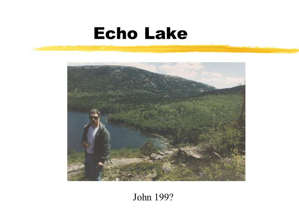 Echo Lake John 199?