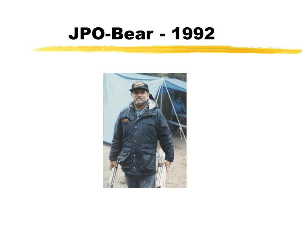JPO-Bear - 1992