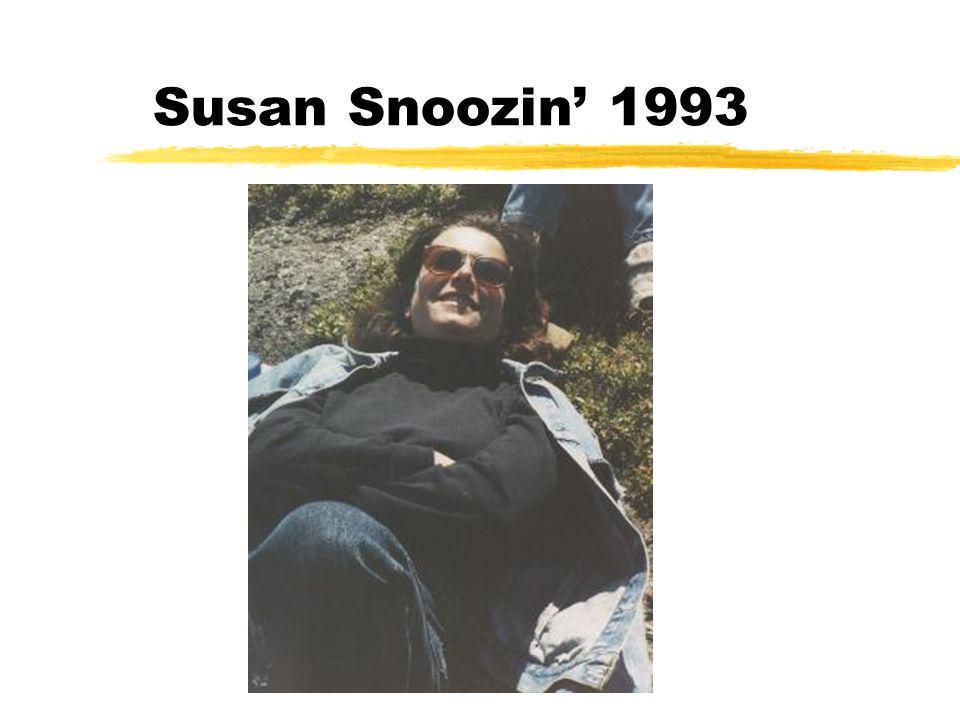 Susan Snoozin' 1993
