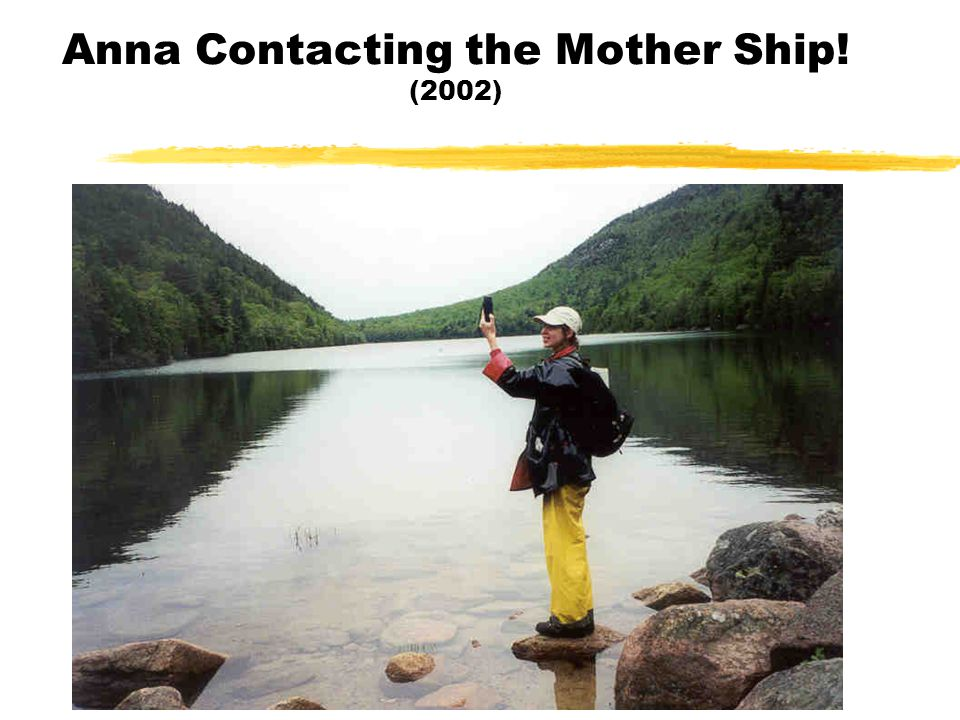 Anna Contacting the Mother Ship! (2002)