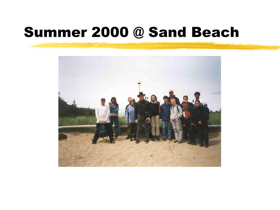 Summer 2000 @ Sand Beach
