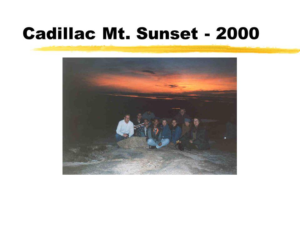 Cadillac Mt. Sunset - 2000