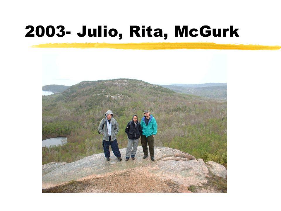 2003- Julio, Rita, McGurk