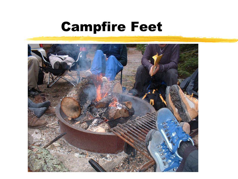 Campfire Feet